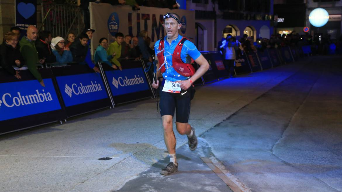 UTMB – Andrew Hough Race Report